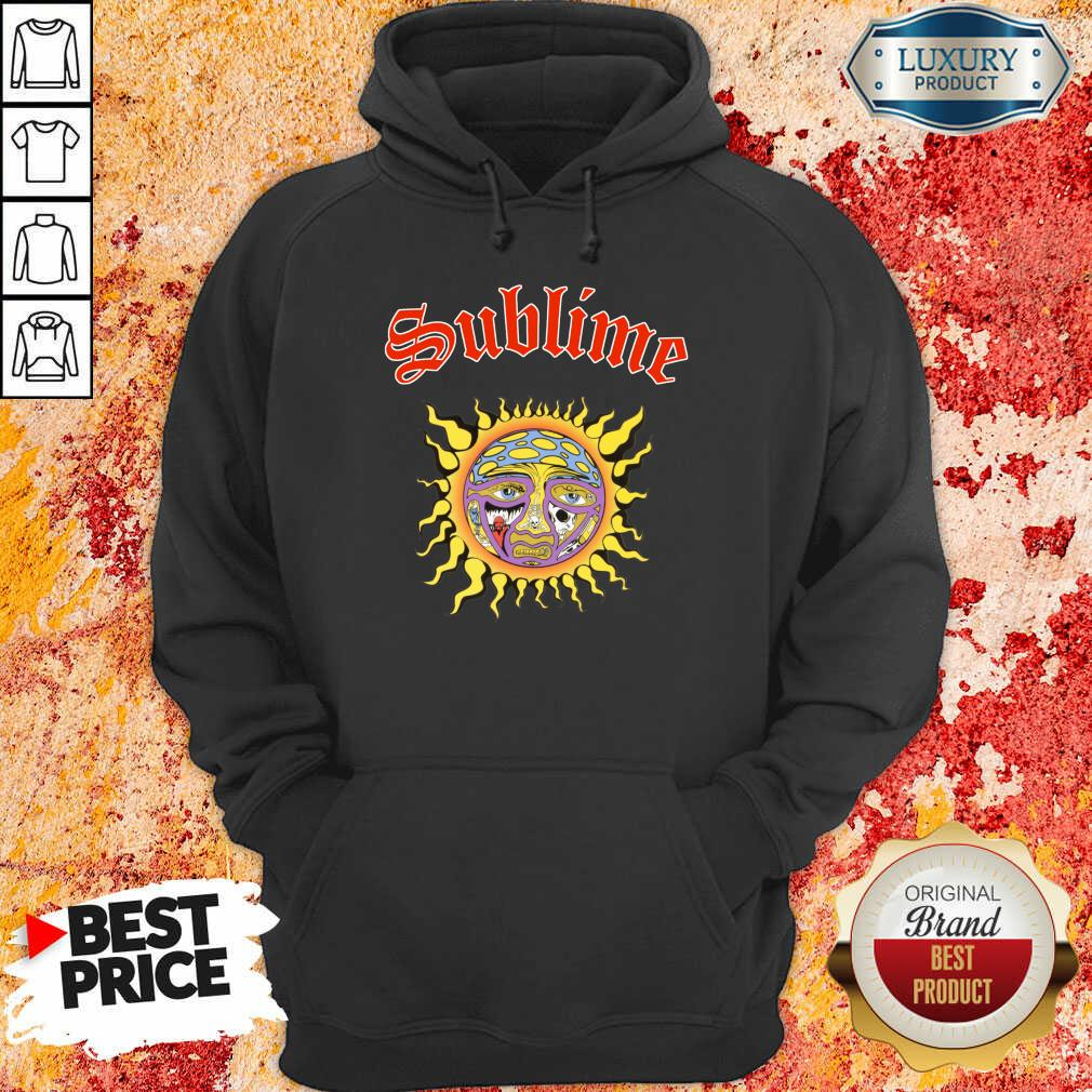 Intrigued Sublime 1 Sun Hoodie - Design by Sheenytee.com