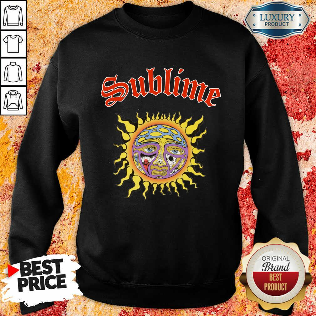 Intrigued Sublime 1 Sun Sweatshirt - Design by Sheenytee.com