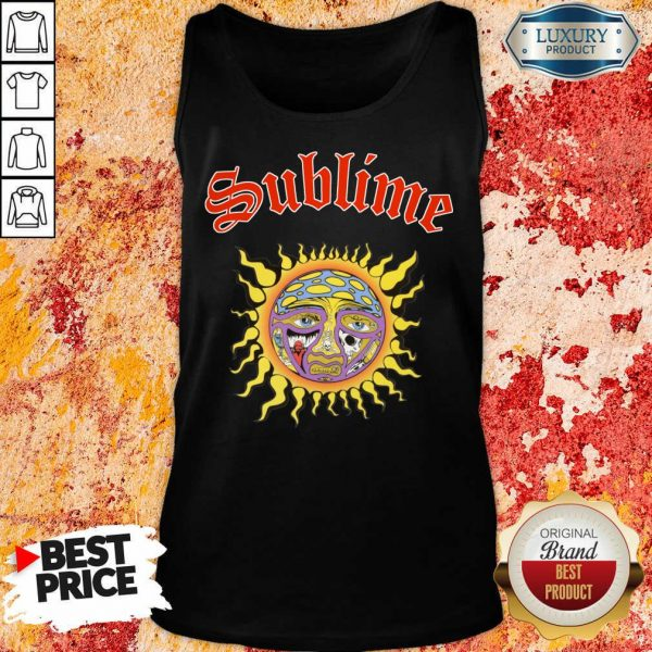 Intrigued Sublime 1 Sun Tank Top - Design by Sheenytee.com