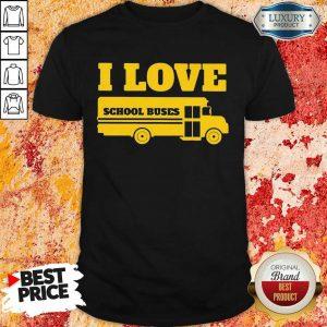 Overwhelmed I Love School Buses 3000 Shirt - Design by Sheenytee.com