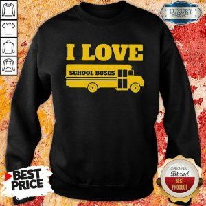 Overwhelmed I Love School Buses 3000 Sweatshirt - Design by Sheenytee.com