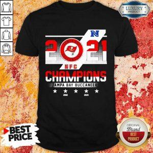 Worried 2021 NFC Chamouin Tampa Bay Buccaneers 2002 2020 Shirt - Design by Sheenytee.com