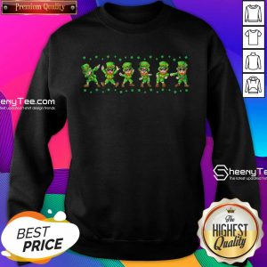 Leprechauns 6 Dancing St Patricks Day Sweatshirt - Design by Sheenytee.com