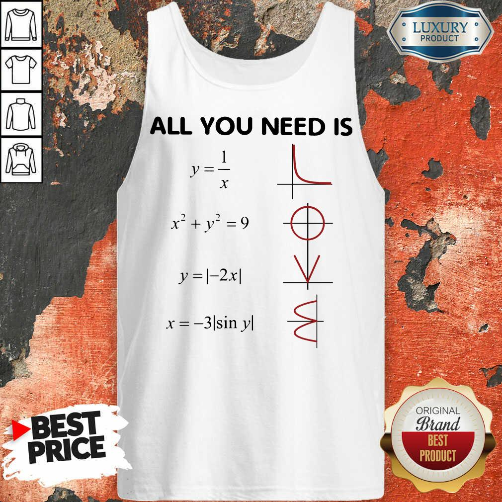 Original All You Need Is LOVE Tank Top