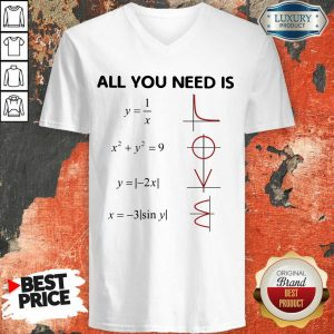 Original All You Need Is LOVE V-neck