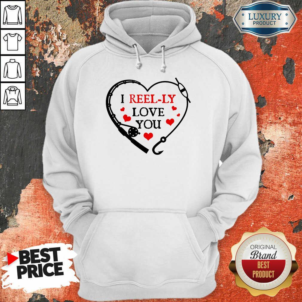I Reel Ly Love You Valentine Hoodie