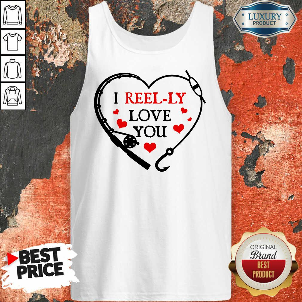 I Reel Ly Love You Valentine Tank Top