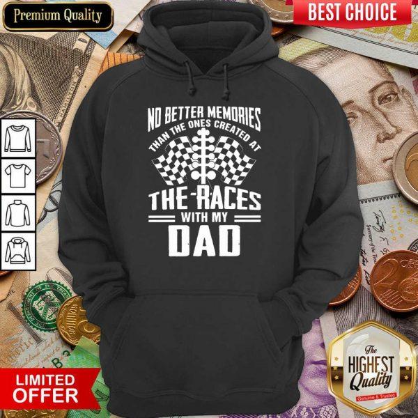 My Dad Dirt Track Racing Memories Hoodie